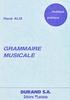Alix, René : Grammaire Musicale