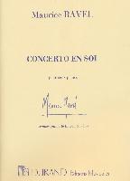 Maurice Ravel : Concerto en Sol : Piano et Réduction Orchestre