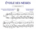 Etoile des neiges (Collection CrocK