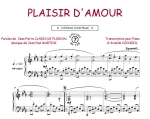 Plaisir d'amour (Collection Crock'Music) ( Martini, Jean-Paul / Claris De Florian, Jean-Pierre)