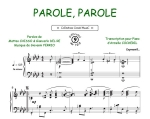 Parole, Parole (Collection CrocK