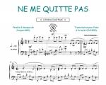Brel, Jacques : Ne me quitte pas (Collection CrocK'MusiC)