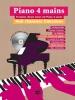 8 chansons françaises pour Piano 4 mains + CD