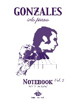 Gonzales Solo Piano : Note book Vol.2   DVD Piano Vision