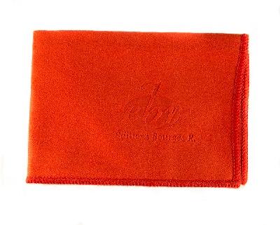 Tissu de Nettoyage pour Instruments de Musique `Editions Bourgès` - Rouge