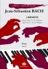 Bach, Johann Sebastian : 2 Menuets BWVAnh113 en Fa Majeur & BWVAnh116 en Sol Majeur (Collection Anacrouse)
