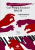 Bach, Carl Philipp Emanuel : Solfegietto Do Mineur (Collection Anacrouse)