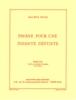 Ravel, Maurice : Pavane Pour Une Infante Défunte (Partition de poche - Orchestre)