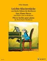 Emonts, Fritz : Easy Piano Pieces from Bach