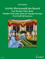 Emonts, Fritz : Easy Baroque Piano Music