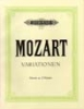 Mozart, Wolfgang Amadeus : Variations, complete