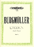 Burgmuller, Friedrich : 12 Brilliant and Melodious Studies Op.105