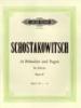 Shostakovich, Dmitry : 24 Preludes & Fugues Op.87 Vol.1