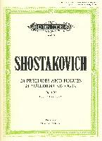 Shostakovich, Dmitry : 24 Preludes & Fugues Op.87 Vol.2