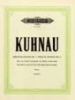Kuhnau, Johann : 6 Sonatas Depicting Stories from the Bible: Sonata No.2