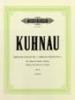 Kuhnau, Johann : 6 Sonatas Depicting Stories from the Bible: Sonata No.5