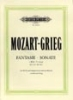 Mozart, Wolfgang Amadeus / Grieg, Edvard : Sonata in C minor K457 (with Fantasia K476)