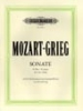 Mozart, Wolfgang Amadeus / Grieg, Edvard : Sonata in G major K283