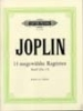 Joplin, Scott : 14 Selected Ragtimes Vol 1
