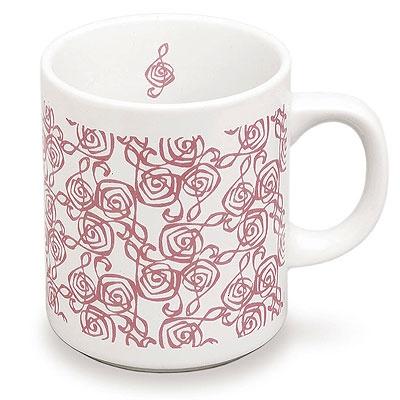 Mug : Clé de Sol rose Finlandia