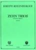 Rheinberger, Josef Gabriel : Zehn Trios Op.49