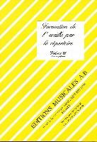 Formation de l'Oreille par le Répertoire - Volume 1 - Livre du Professeur