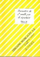 Formation de l'Oreille par le Répertoire - Volume 3 - Livre du Professeur