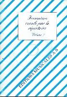Formation Vocale par le répertoire - Volume 7