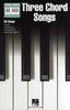 Piano Chord Songbook : Three Chord Songs