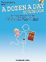 A Dozen A Day Songbook - Preparatory