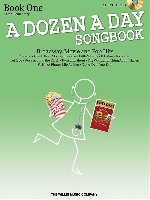 A Dozen A Day Songbook - Book One