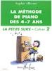 Méthode de piano des 4-7 ans - La petite suite (cahier 2 ) (Allerme, Sophie)