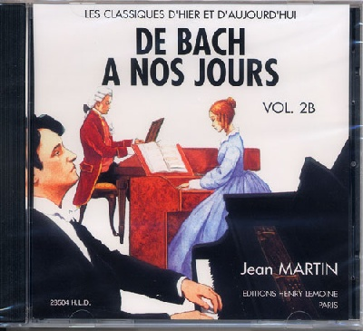 CD audio : De Bach à nos Jours - Volume 2B