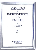 Philipp, Isidore : Exercises for Independence of Fingers - Book 1