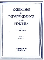 Philipp, Isidore : Exercises for Independence of Fingers - Book 2