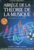 Abrégé de la Théorie de la musique - Volume 1 : Les bases