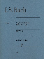 Bach, Johann Sebastian : English Suites BWV 806-811