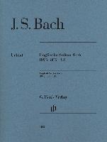Bach, Johann Sebastian : English Suites 4-6 BWV 809-811