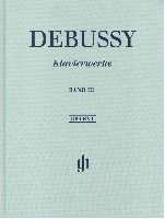 Debussy, Claude : Oeuvres pour Piano - Volume III