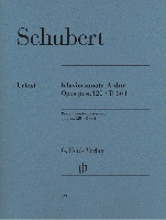 Sonate pour piano en la majeur Opus post. 120 D 664 / Piano Sonata in A Major Opus post. 120 D 664 (Schubert, Franz)