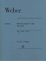 Sonate pour piano en ut majeur Opus 24 / Piano Sonata in C Major Opus 24 (Weber, Carl Maria von)