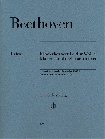 Beethoven, Ludwig Van : Piano Concerto in E flat major WoO 4