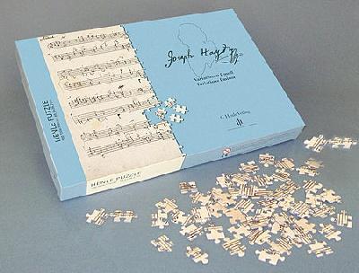 Haydn, Josef : Puzzle : Haydn / Variations F minor, Hob. XVII:6