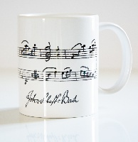 Mug Partition de Bach