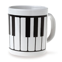 Set de 6 Mugs - Touche de Piano