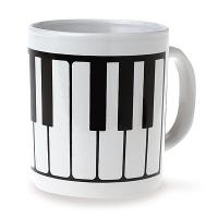 Set de 6 Mugs - Touche de Piano
