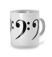 Mug : Clef de Fa