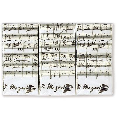 Mouchoirs en Papier - Mozart