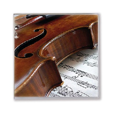 Paper Napkins Violin / Sheet Music