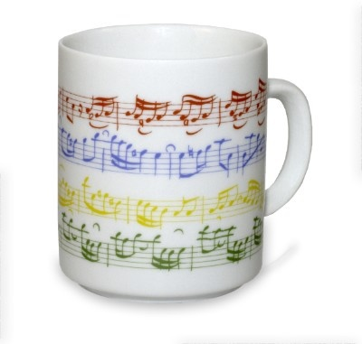 Mug - Partition Colorée